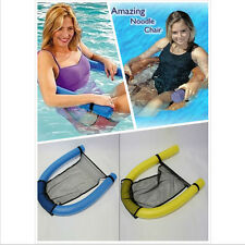 M&C Noodle Pool floating Upthrust Chair Swimming Seat Bed Buoyancy Stick