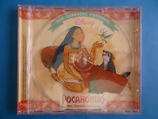 CD DISNEY POCAHONTAS COLLECTION MES CHANSONS PREFEREES 4 TITRES