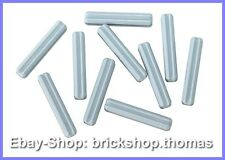 Lego Technic 10 x 3er Kreuzstangen grau - 4519 - Axle Light Bluish Gray -NEU/NEW