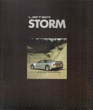 Lister Storm 7-Litre Road Car 1993 UK Market Sales Brochure