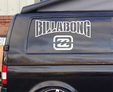 2x Extra Large Billabong SURF Funny Car/Window VW EURO Vinyl Decal Sticker 60cm