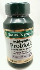 Nature's Bounty Lactobacillus Acidophilus Probiotic Immune  Digest Health