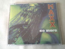 MAXX - NO MORE (I CAN'T STAND IT) - OLD SKOOL DANCE CD SINGLE