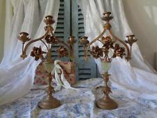 Paar antiker ALTARLEUCHTER Kandelaber Frankreich 19. Jahrh.