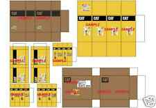 1/18 Diorama Caterpiller Parts Box SET 116 01 For Shop  Accessories By A608