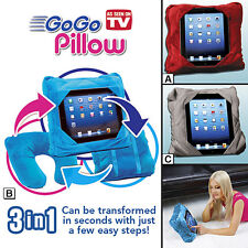 GoGo Pillow 3 in 1 Multifunctional Pillow , iPad Support, Backpack,