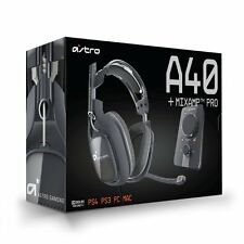 Astro Gaming A40 Wired + Mixamp Pro Dolby 7.1 Gaming Headset PS4 -UD - (Read)