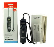 Canon TC-80N3 Timer Remote Controller for EOS 5D 7D 5D2 6D 5D3 50D 1DX2