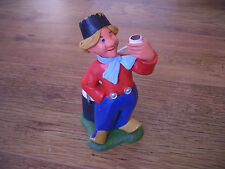 Vintage Heineken Lager Beer Dutch Boy Figure Advertising Shelf Display Pub Sign