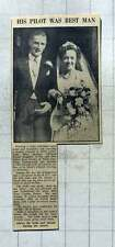 1949 Barbara Evans Weds George Law At St Mary's Church Goring