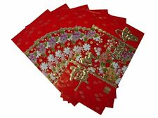 Big Chinese Money Red Envelopes with Flower Pictures for New Year