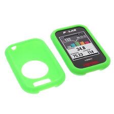 Tasche für Polar V650 Schutz Hülle Silikon Gummi Case GPS Fahrrad Computer Grün