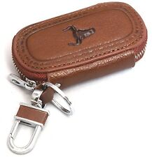 Universal Car Smart Key Chain Leather Holder Cover Case Purse Bag Fob Remote-604