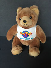 Hard Rock Cafe Washington DC Teddy Bear Plush Stuffed Animal