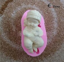 3D Silicone Mold Baby Angel Fondant Cake Mould Baking Decorating Tool DIY A+++