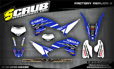 SCRUB Yamaha WR 250R 2008 - 2017 Grafik Sticker Dekor-Set MX '08-'17