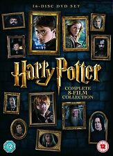 Harry Potter - The Complete 1 2 3 4 5 6 7 8 Film Collection Box Set | New | DVD