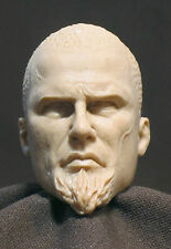 "Tête. Custom head sculpt 12"". 1:6 (SMALL). TIL SCHWEIGER "" King Arthur "" V-56"