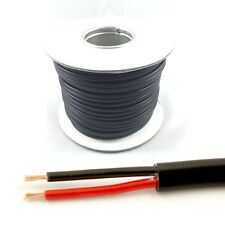 *16.5 AMP Rated* 1mm2 Thin Wall 2 Twin Core Cable Wire Car LED Light (50M Roll)
