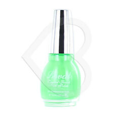 Laval Crystal Finish Nail Polish - Ultra Green - Bright Neon Fab Summer Shade