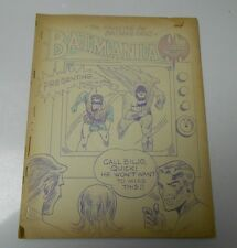 1965 BATMANIA #7 Batman & Robin Fanzine ZINE White House of Comics VG+ 28 pgs