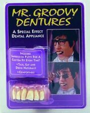 Groovy Austin poderes Estilo falso Dientes dentaduras Fancy Dress Accesorio p1216