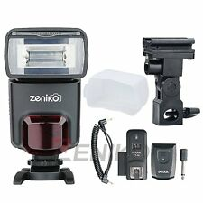 ZT330 Camera Flash GN33 Speedlite & Godox Trigger Set for Canon Nikon Sony