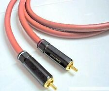 VDH Van Den Hul 102 MKIII Audiophile Silver Coated Copper Coaxial Cable 1 Meter