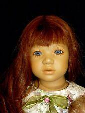 Annette Himstedt Vinyl LILIANE Lt. Auburn Hair Wig