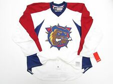 HAMILTON BULLDOGS AUTHENTIC AHL PRO PRACTICE CCM EDGE HOCKEY JERSEY SIZE 58+