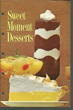Sweet Moment Desserts General Foods Corporation PB 1966