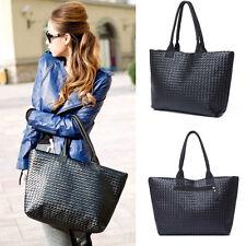 Donna pelle sintetica Borse Tracolla Nero Borsa A Tracolla Messenger donna Bags