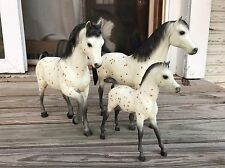 Breyer Family Arabian Mare, Foal And Stallion -  Leopard Appaloosa