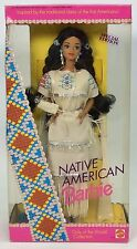 NATIVE AMERICAN BARBIE DOLLS OF THE WORLD DOTW NRFB