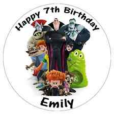 """Hotel Transylvania Personalised Cake Topper Edible Wafer Paper 7.5"""""""