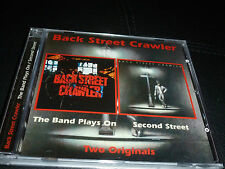 CD. BACK STREET CRAWLER.BAND PLAYS ON/SECOND STREET.75/76.SUP WITH KOSSOFF.REMAS