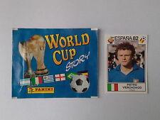 PANINI WORLD CUP STORY - N.133 - WC ESPANA 82 - VIERCHOWOD ITALIA