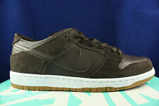 NIKE DUNK LOW PRO SB IW ISHOD WAIR BAROQUE BROWN GUM MEDIUM 819674 221 SZ 9
