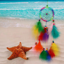 Colorfull Dream Catcher Feather Crafts Handmade Home Hanging Gifts BEST