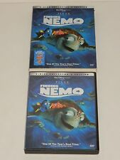 Disney Pixar Finding Nemo (DVD, 2003, 2-Disc Set) w/Slip Cover
