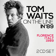 TOM WAITS New Sealed 2017 UNRELEASED LIVE 1989 ITALY CONCERT 2 CD SET