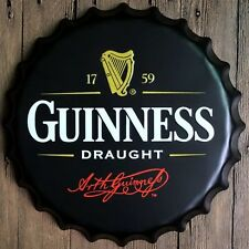 Tin Sign bottle cap guinness beer Bar Pub Home Vintage Retro Poster Cafe ART