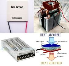 Thermoelectric Cooler Peltier 12709 Set latest + Power supply + Heatsink
