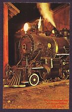 LMH Postcard  EAST BROAD TOP 2-8-2  Mikado EBT #12  Night View Smokebox 1960 PA