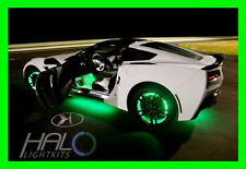 GREEN LED Wheel Lights Rim Lights Rings by ORACLE (Set of 4) for PONTIAC MODEL 1