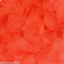 Silk Rose Petals Wedding Flower Bridal Decoration Party 40 Color Choose Quantity