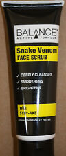 Snake Venom - Face Scrub - Smoothens / Brightens / Deeply Clenses