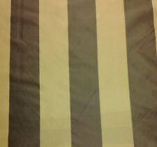 MARCOVALDO PATSYIA STRIPE BRONZE TAN #794 100% SILK TAFFETA  FABRIC BY THE YARD
