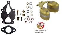 ZENITH CARBURETOR KIT & FLOAT IH FARMALL 130 140 200 230 240 330 340 404 SUPER A
