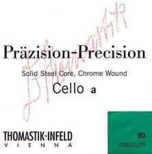 Cello Saiten Thomastik Präzision 808  Steel Core 3/4 Größe